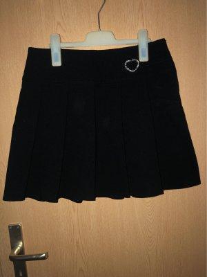 C&A Plaid Skirt black