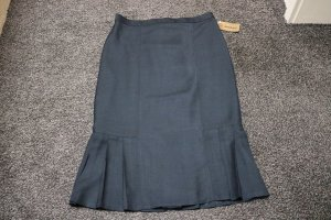 #Faltenrock mit Seide, Gr. 44, #schwarz,#Pattys Pants by Markert