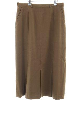 Plisowana spódnica ochra W stylu casual