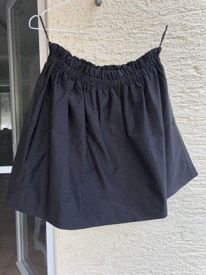 Faltenrock schwarz