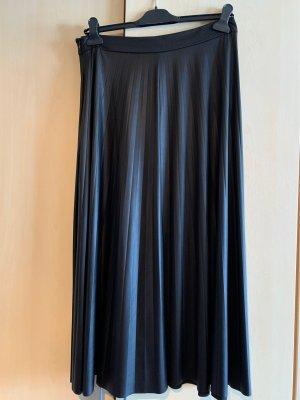 Canda Plaid Skirt black