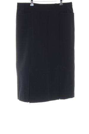Faltenrock schwarz Casual-Look