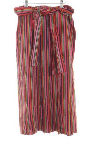 Plisowana spódnica Wzór w paski W stylu casual