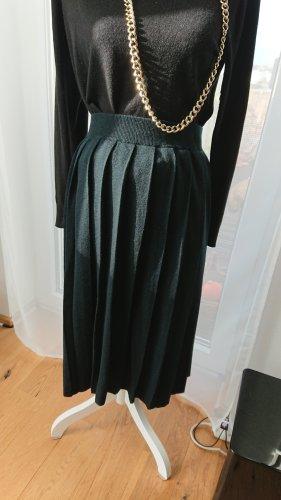 Knitted Skirt petrol