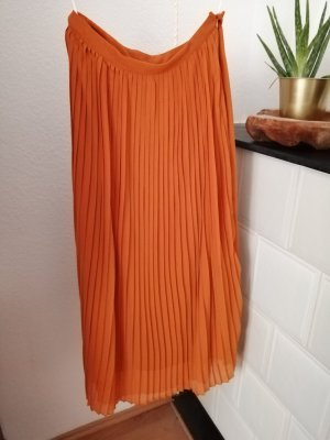 Vero Moda Gonna pieghettata arancione chiaro