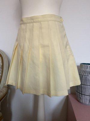 American Apparel Plooirok geel