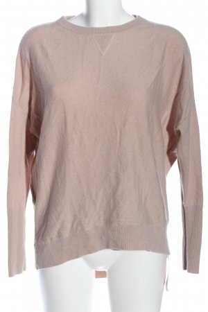 Fame Pullover in cashmere rosa stile casual