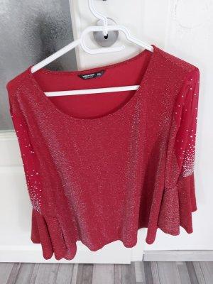 SheIn Glanzende blouse veelkleurig