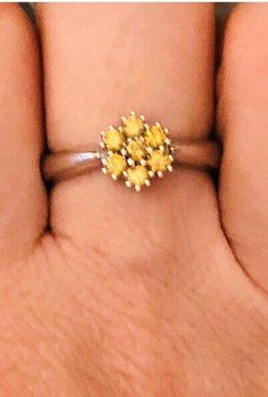 Galaria Kaufhof Gold Ring multicolored