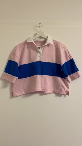Fancy Oversize Crop Polo