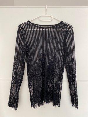 Ichi Camicia lunga nero