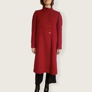 Fantastischer roter vintage Mantel- Made in France