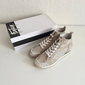 Fantasy ital. Sneaker Light Grey Gr. 39 1/2 komplett Leder New