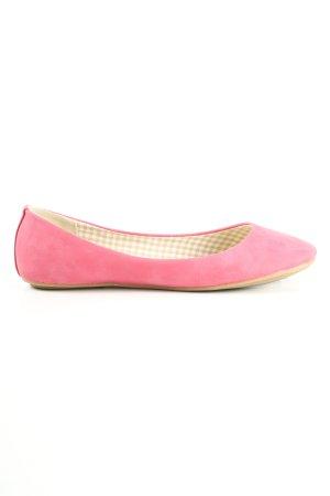 Farasion faltbare Ballerinas pink Casual-Look