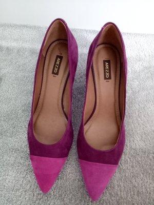 Arezzo Spitse pumps violet Suede