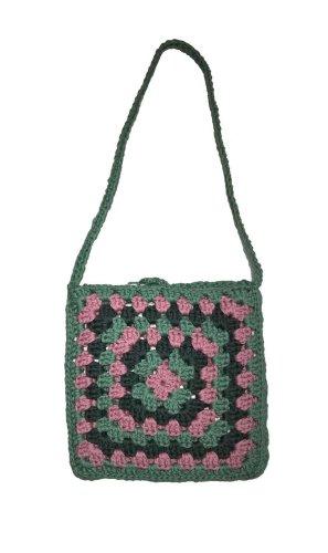 Farbenfrohe Granny Tasche