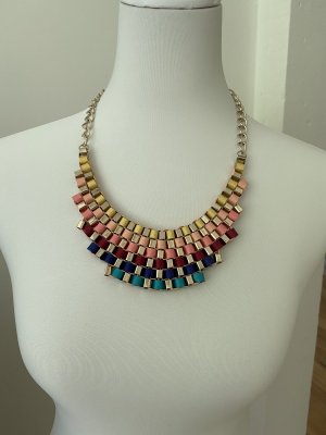 Farbenfrohe Halskette/Collier