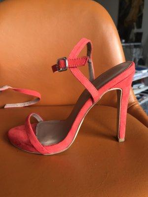 Farbenfrohe Sandaletten