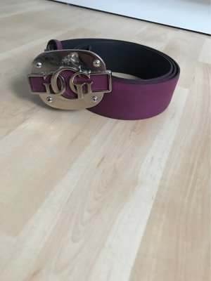 Guess Leather Belt purple