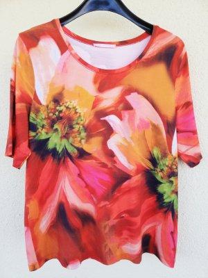 farbenfrohes elastisches T-Shirt von BASLER