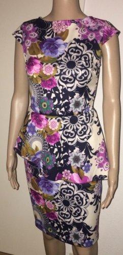 Bodyflirt Vestido peplum multicolor
