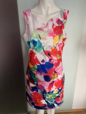 Smashed lemon Empire Dress multicolored polyester