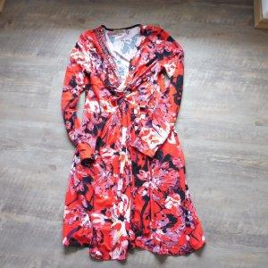 Farbenfrohes Kleid von Sweet Miss, S, rot/ bunt floral