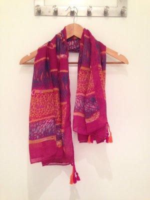 Unbekannte Marke Neckerchief multicolored polyester