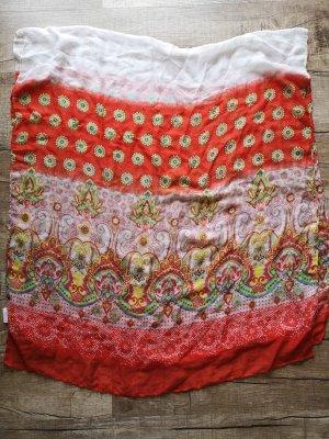 Aniston Fazzoletto da collo bianco-rosso