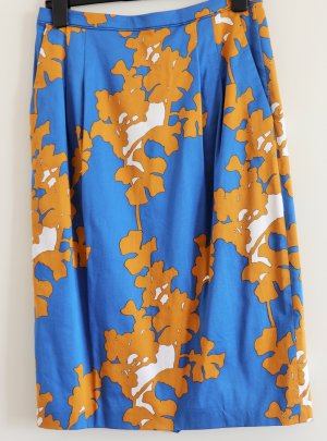 Escada Sport Midi Skirt multicolored cotton