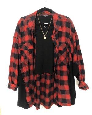 Farina Opoku Flannel Shirt black-red