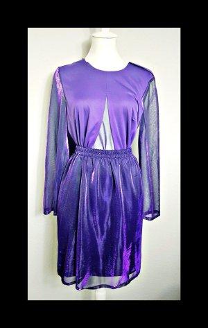Vintage Traje para mujer lila