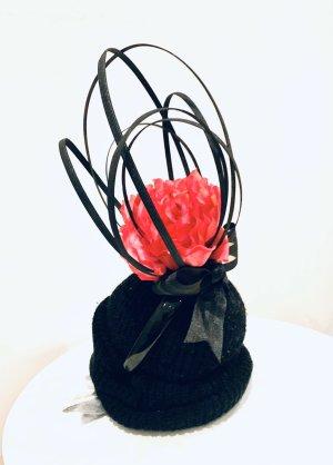 Haarband zwart-framboosrood