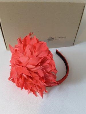 Bijoux pour la tête rouge framboise