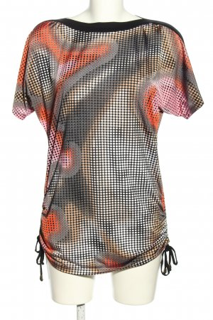 Fashion Apolda Blusa ancha estampado con diseño abstracto look casual