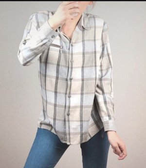 Camicia in pelle multicolore