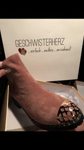 Chelsea laarzen roségoud Suede