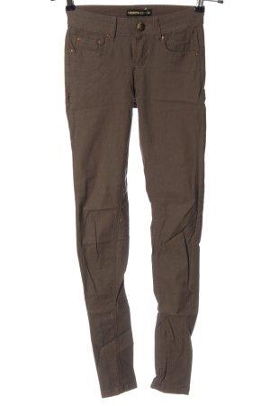 Fashion Club Jeans cigarette brun style décontracté