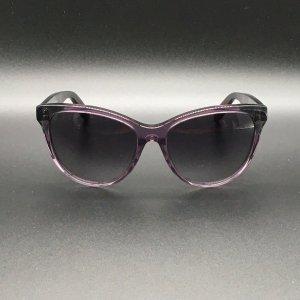 Bottega Veneta Occhiale viola-grigio Acetato