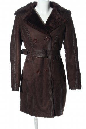 Fashion Elle Wintermantel braun Casual-Look
