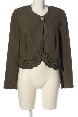 Fashion FOR YOU Kurz-Blazer braun Casual-Look