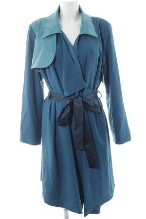 fashion hero for Karstadt Trenchcoat türkis-stahlblau Casual-Look