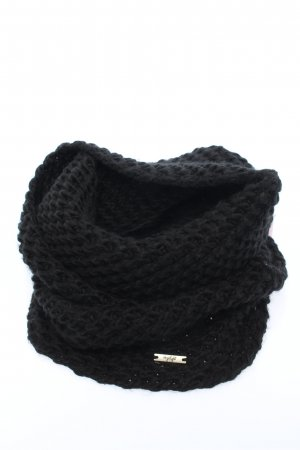 Fashion Highlight Knitted Scarf black casual look