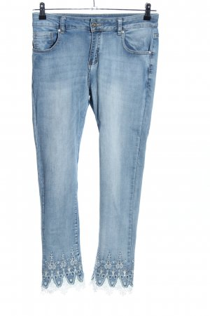 Stretchhose blau Casual-Look