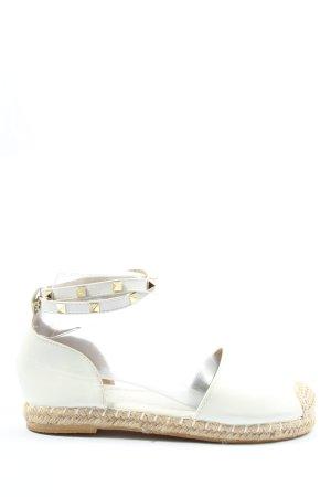 fashion Sandalias cómodas blanco look casual