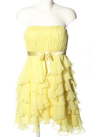 Fashion New York Etuikleid blassgelb Elegant