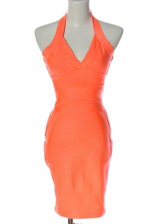 Fashion Nova Pencil Dress light orange elegant