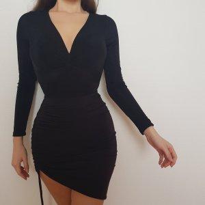 Fashion Nova Bodysuit Black Schwarz Chic Größe S