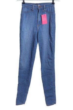 Fashion Nova High Waist Jeans blau Casual-Look