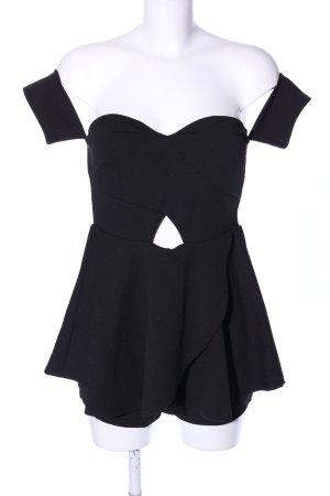 Fashion Nova Jumpsuit schwarz extravaganter Stil